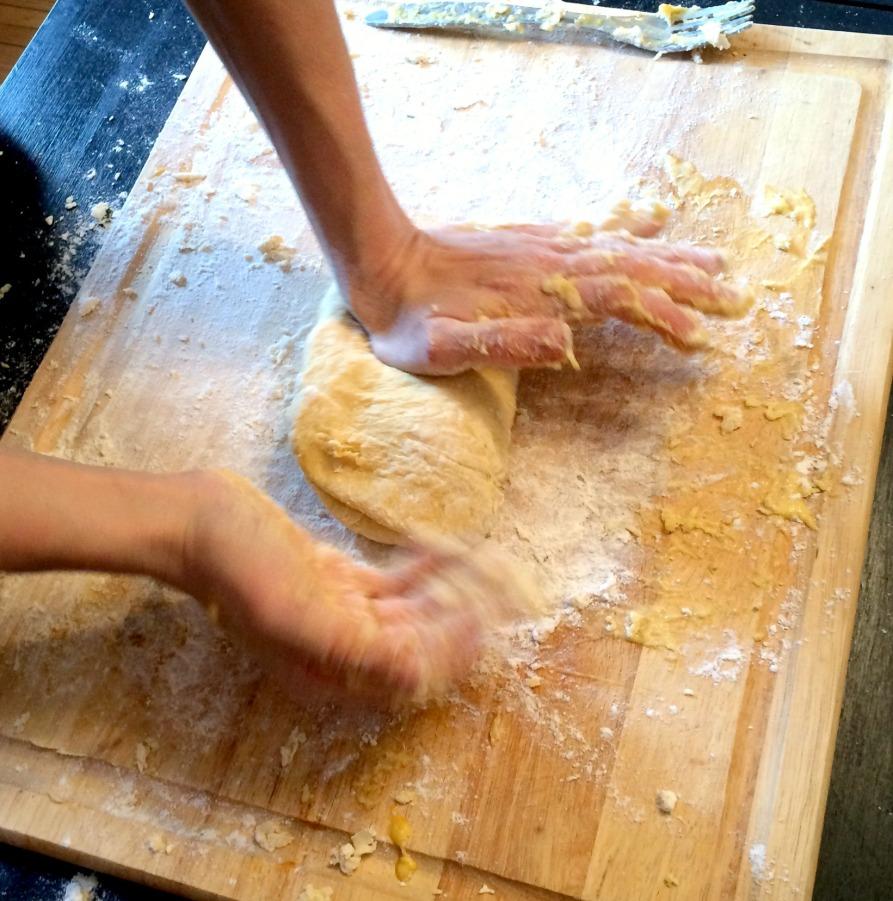 knead