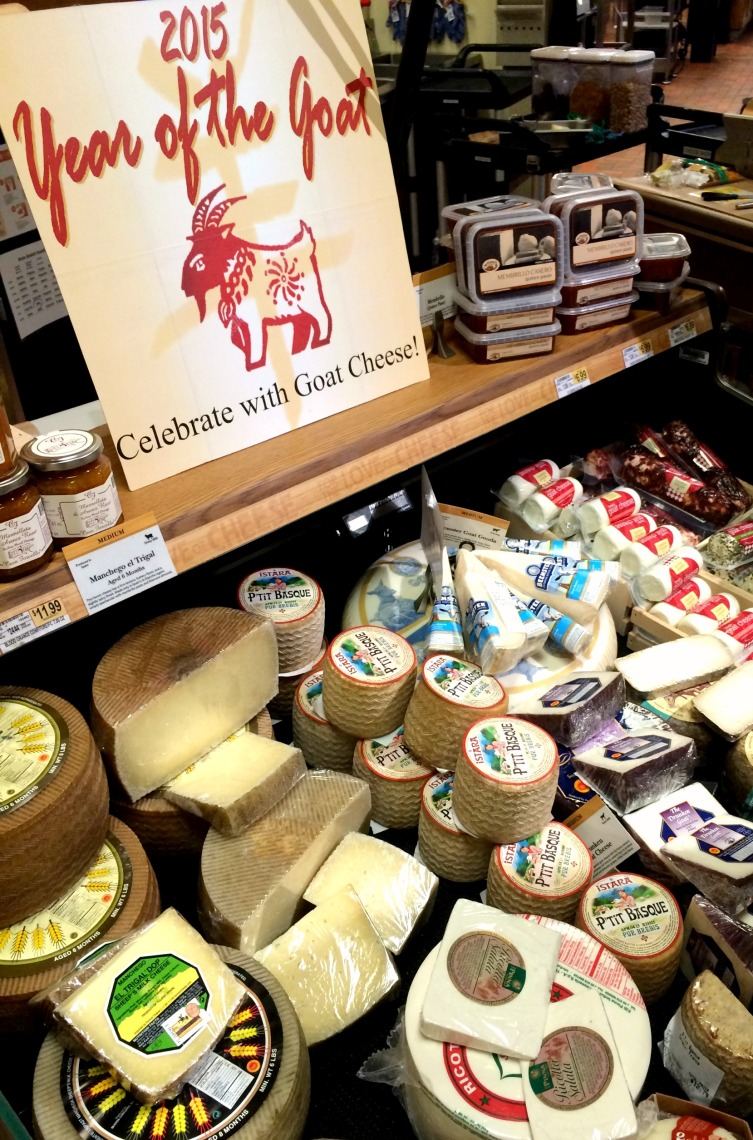 The Year of Goat Cheese