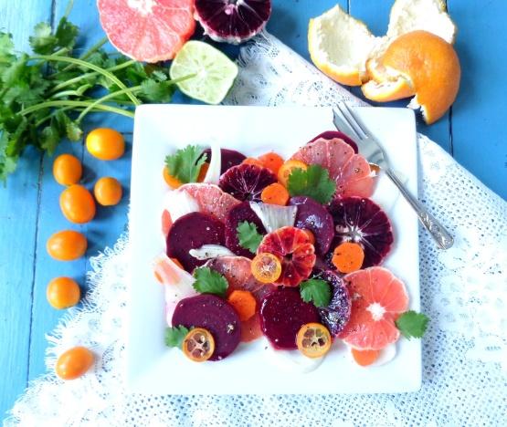Blood Orange, Beet & Fennel Salad