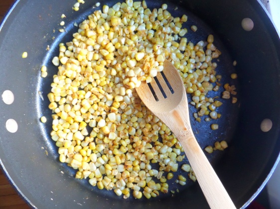 Saute Corn Kernels
