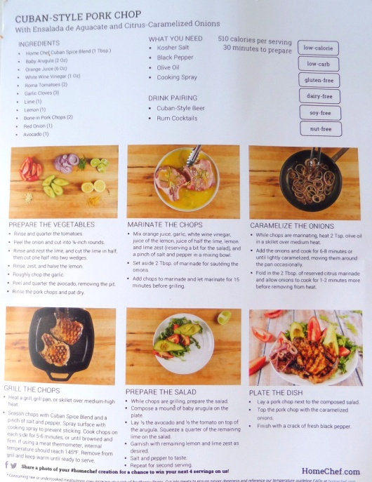 Back of Recipe Card