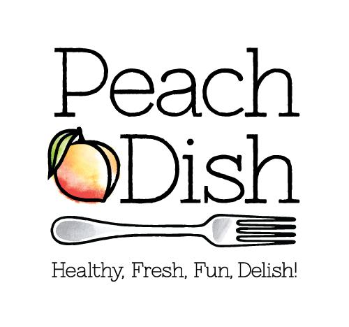 PeachDish-Color_Logo_Tagline_500px_Stacked